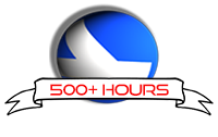 500+ Flight Hours - Well Done! You have completed 500+ hours on EasternHops VA.